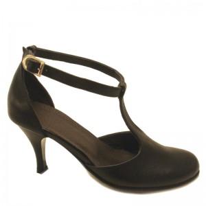 Sandale de vara cu toc piele dame Sf102