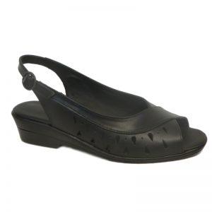 Sandale piele fara toc dame Sf.144