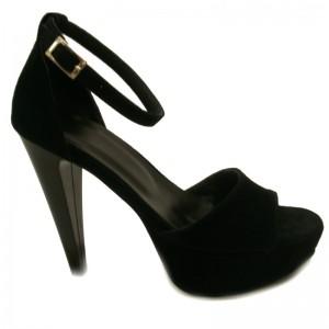 Sandale de vara cu toc piele dame Sf122