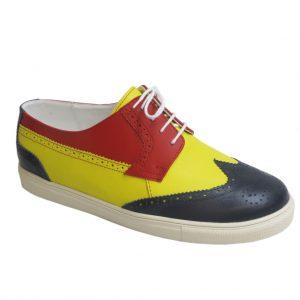 pantof-piele-barbati-tricolor-cb-68