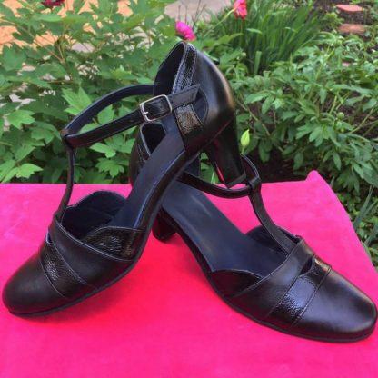 Sandale de vara cu toc piele dame Sf.153
