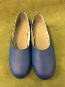 Pantof flexibil pentru dansuri cu elastic (unisex) Fl.4