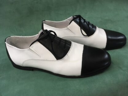 Pantof flexibil pentru dansuri cu siret si elastic - barbati Fl.3