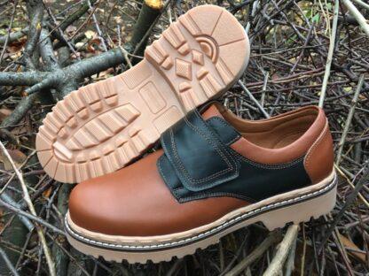 Pantofi piele - iarna barbati Pb168