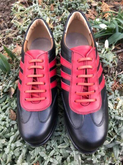 Pantofi casual sport piele - Un picior mai scurt Dp3