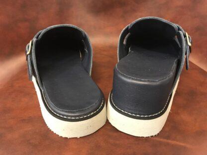 Saboti piele - Un picior mai scurt Dp4