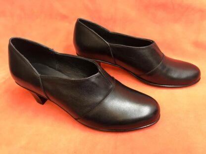 Pantofi piele cu toc Pf92