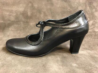 Pantofi piele cu toc Pf93