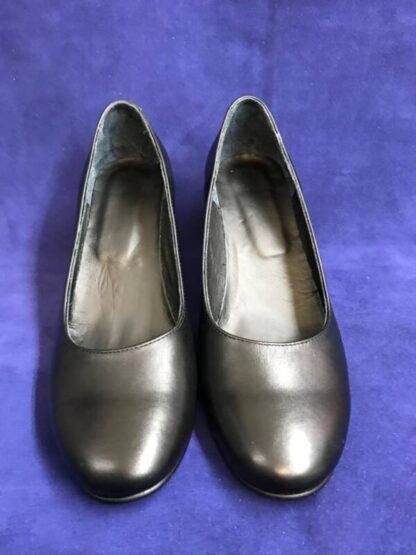 Pantofi piele cu toc Pf94