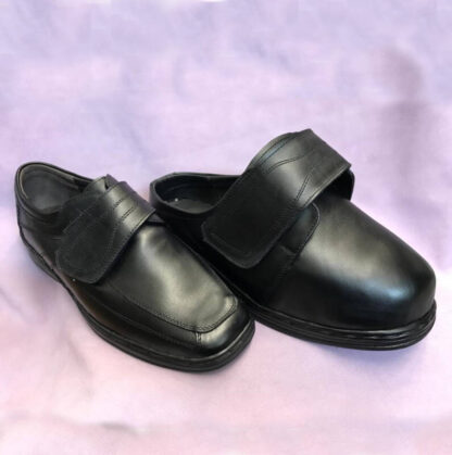 Pantofi la comanda din piele pentru picior umflat Dp5