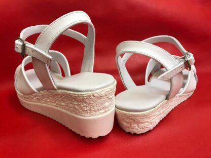 Sandale dame, din piele pt. un picior mai scurt Dp8