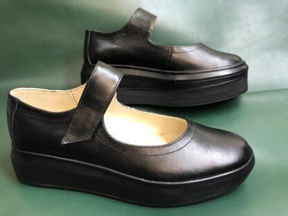 Pantofi dame, din piele pt. un picior mai scurt Dp11