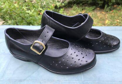 Pantofi dame, din piele un picior mai scurt Dp12