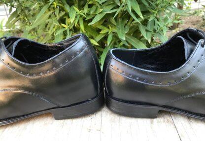 Pantofi piele pentru barbati - Un picior mai scurt Dp14