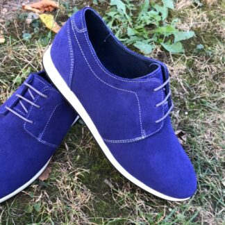 Pantofi piele intoarsa casual-sport barbati Cb72